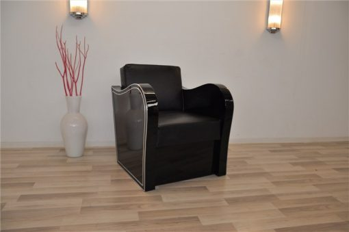 Art Deco Sessel, Chromliner