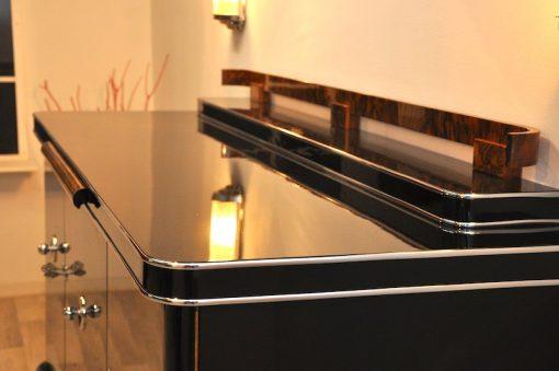 Art Deco Sideboard, Nussbaumholz
