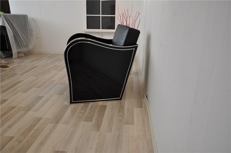 chromliner art deco sessel original antike m bel. Black Bedroom Furniture Sets. Home Design Ideas