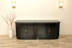 Schlichtes Art Deco Sideboard, Klavierlack