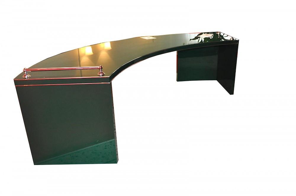 art deco xxl schreibtisch in racing green. Black Bedroom Furniture Sets. Home Design Ideas