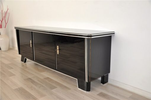 prachtvolles art deco lowboard original antike m bel. Black Bedroom Furniture Sets. Home Design Ideas