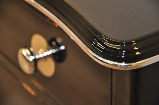 Art Deco kommode, elegantes Design, geschwungene Beine