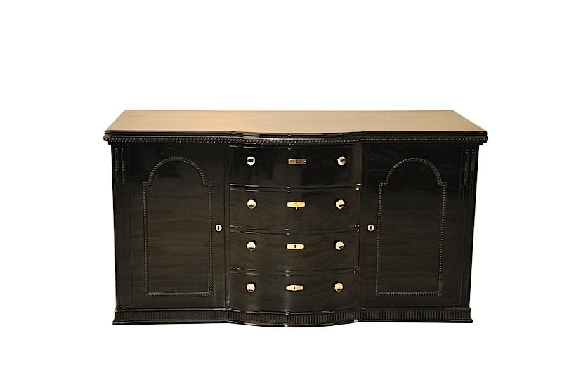 belgische art deco kommode original antike m bel. Black Bedroom Furniture Sets. Home Design Ideas