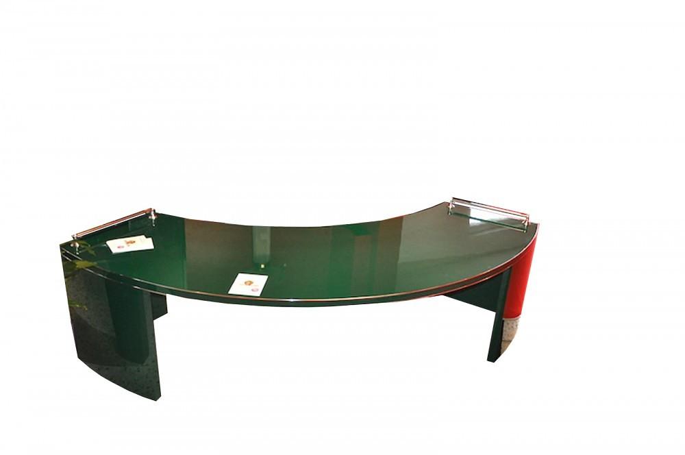 Art deco xxl schreibtisch in racing green original for Schreibtisch xxl