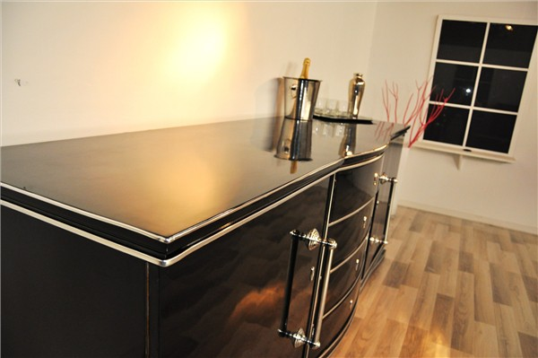 art deco sideboard xxl aus frankreich ebay. Black Bedroom Furniture Sets. Home Design Ideas