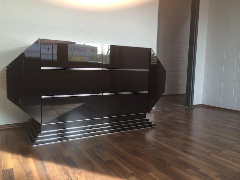 ausgefallenes art deco sideboard original antike m bel. Black Bedroom Furniture Sets. Home Design Ideas