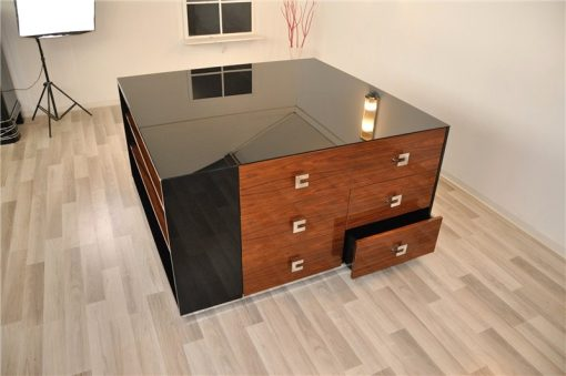 Art Deco Sideboard, London, Cube