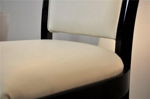 Art Deco Stuehle, Leder, edeles Design