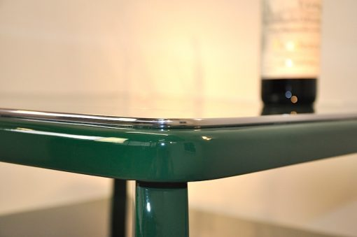 Art Deco Beistelltisch, Jaguar Racing-Green