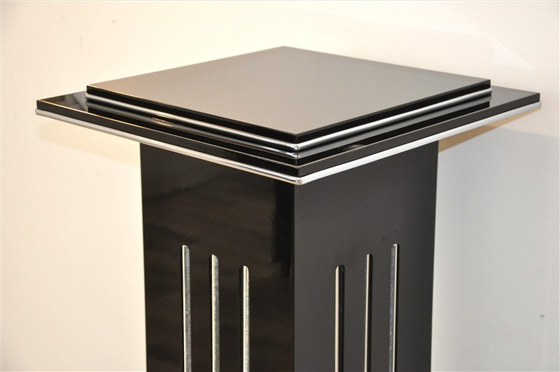 sch ne s ulen lampe im art deco stil ebay. Black Bedroom Furniture Sets. Home Design Ideas