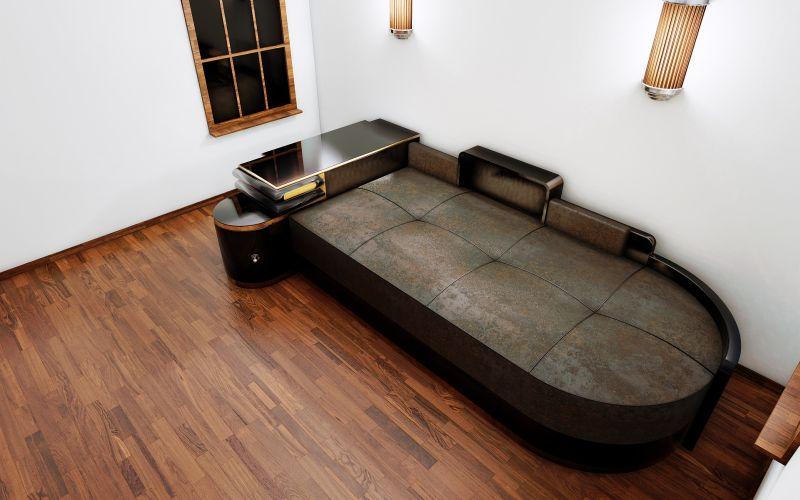 fantastisches art deco daybed original antike m bel. Black Bedroom Furniture Sets. Home Design Ideas