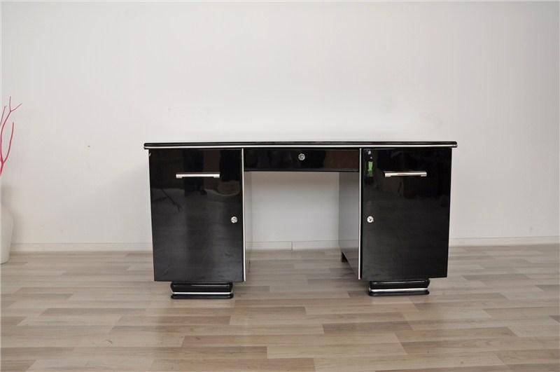 art deco schreibtisch aus frankreich. Black Bedroom Furniture Sets. Home Design Ideas