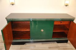 Art Deco Sideboard, Jaguar Racing Green