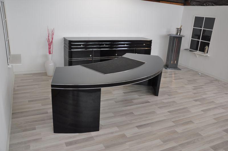 antico bauhaus scrivania direzionale xxl con semicircolare. Black Bedroom Furniture Sets. Home Design Ideas