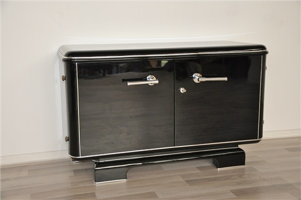 kleine franz sische art deco kommode ebay. Black Bedroom Furniture Sets. Home Design Ideas