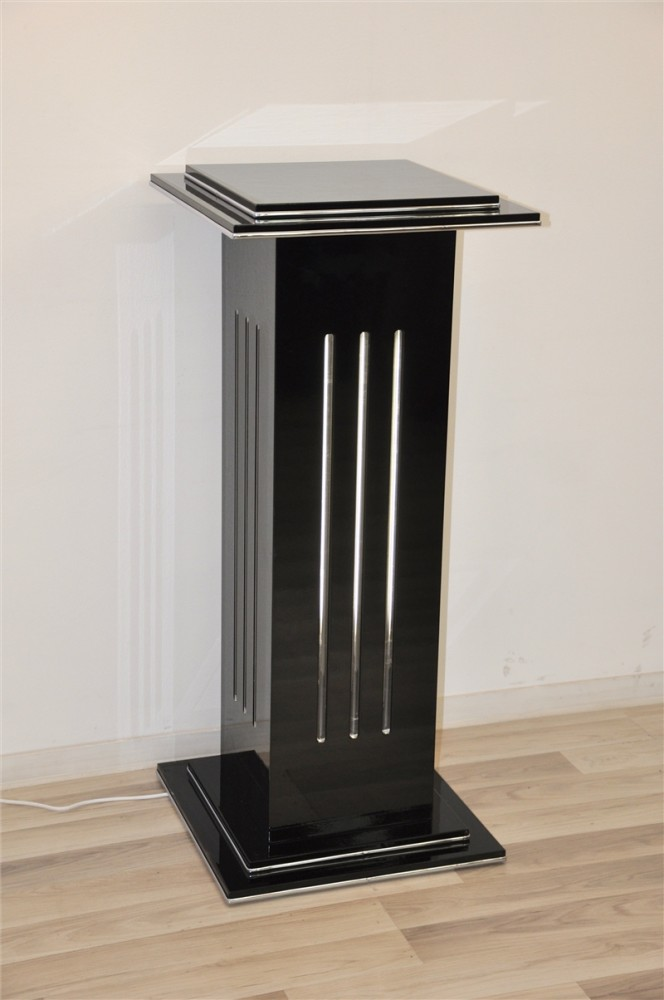 Beautiful Pillar Lamp In The Type Deco Style Ebay