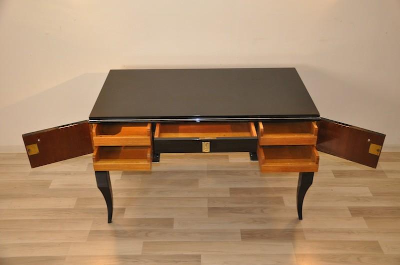 franz sischer art deco damenschreibtisch original antike. Black Bedroom Furniture Sets. Home Design Ideas