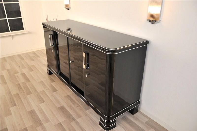 deutsches art deco sideboard original antike m bel. Black Bedroom Furniture Sets. Home Design Ideas