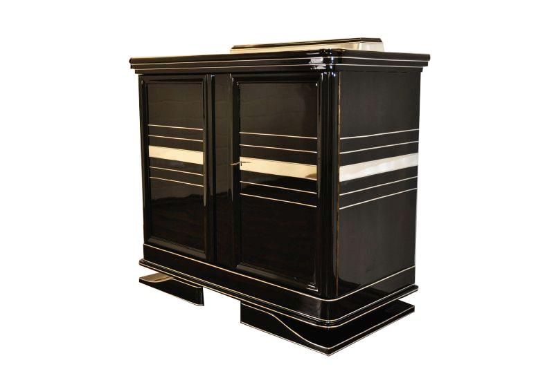 elegante art deco kommode aus 1930 ebay. Black Bedroom Furniture Sets. Home Design Ideas