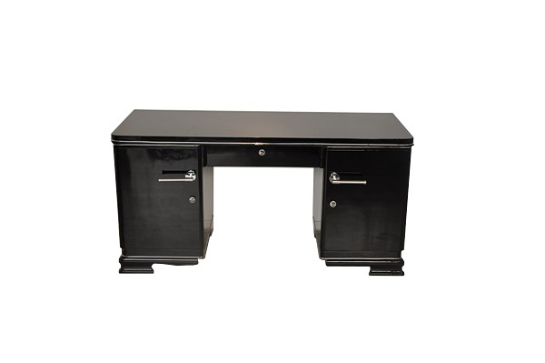 etroit art deco bureau ebay. Black Bedroom Furniture Sets. Home Design Ideas