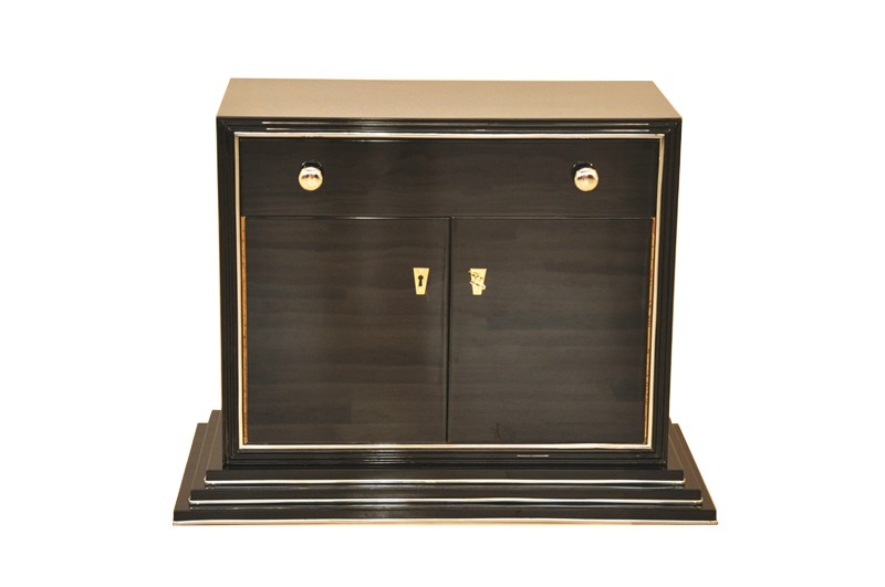 Petite Art Deco Bar Cabinet Ebay