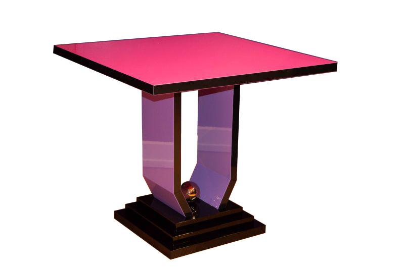 la table de salon by margarethe schreinemakers limitiert original antike m bel. Black Bedroom Furniture Sets. Home Design Ideas