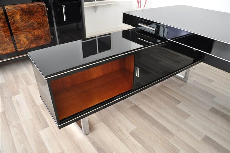 fantastischer bauhaus eckschreibtisch 2 original antike m bel. Black Bedroom Furniture Sets. Home Design Ideas