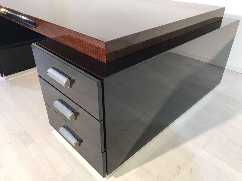 prachtvoller bauhaus xxl schreibtisch und partner desk original antike m bel. Black Bedroom Furniture Sets. Home Design Ideas