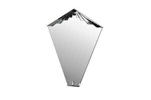 Art Deco Spiegel Nancy, tolle Chromdetails, klassische Form und einzigartiges Design