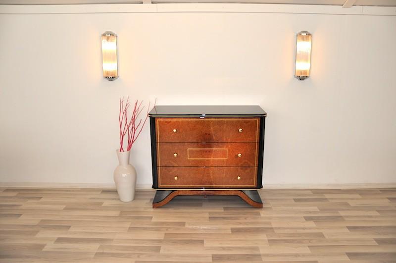 amboina bauhaus kommode ebay. Black Bedroom Furniture Sets. Home Design Ideas