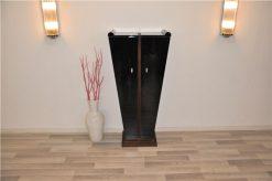 Art Deco Konsole, Tulpenform, Palisanderholz, einmaliges Möbel, Klavierlack