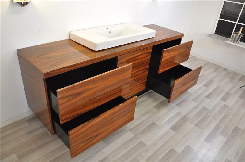 einzigartiger art deco xxl waschtisch aus santos palisanderholz original antike m bel. Black Bedroom Furniture Sets. Home Design Ideas