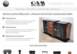 neue webseite von oam. Black Bedroom Furniture Sets. Home Design Ideas