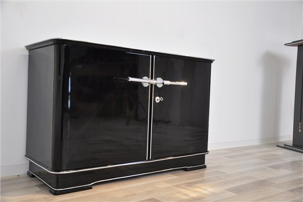 elegante kleine art deco kommode ebay. Black Bedroom Furniture Sets. Home Design Ideas