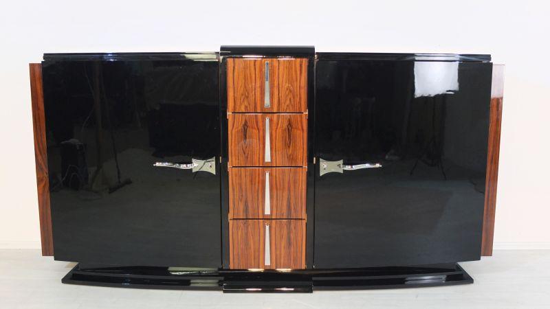 original franz sisches palisander sideboard original antike m bel. Black Bedroom Furniture Sets. Home Design Ideas