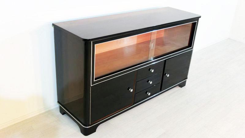 art deco vitrinen sideboard aus deutschland. Black Bedroom Furniture Sets. Home Design Ideas