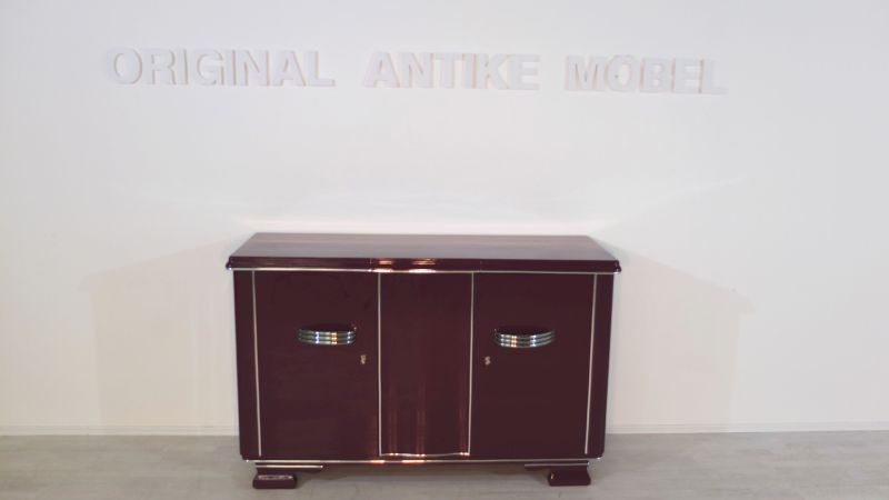 extravagantes art deco sideboard in einem. Black Bedroom Furniture Sets. Home Design Ideas