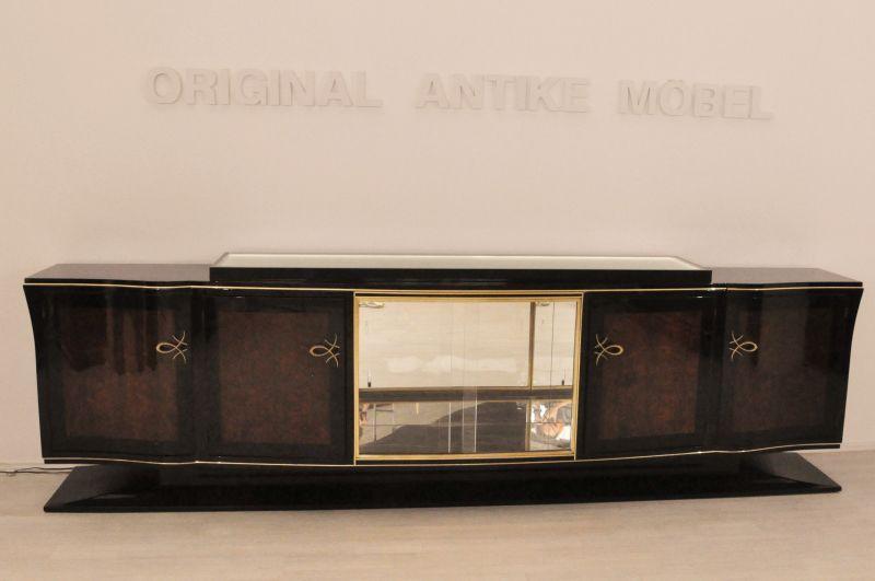 luxuri ses xxl art deco sideboard aus frankreich ebay. Black Bedroom Furniture Sets. Home Design Ideas