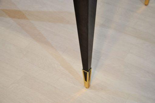 Messingdetails an den Füßen 2 Ausziehplatten Breite 160cm - 242cm Stühle Seperat erhältlich