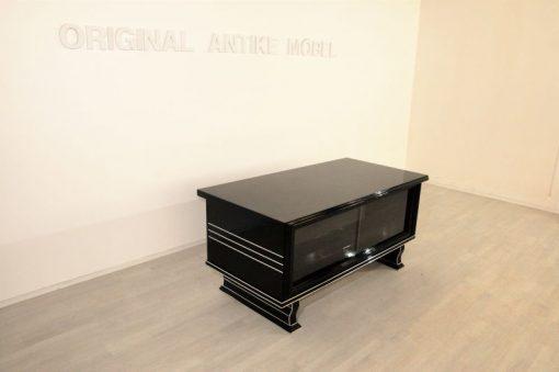 Schreibtisch_Klavierlack_mit_Chromleisten_7