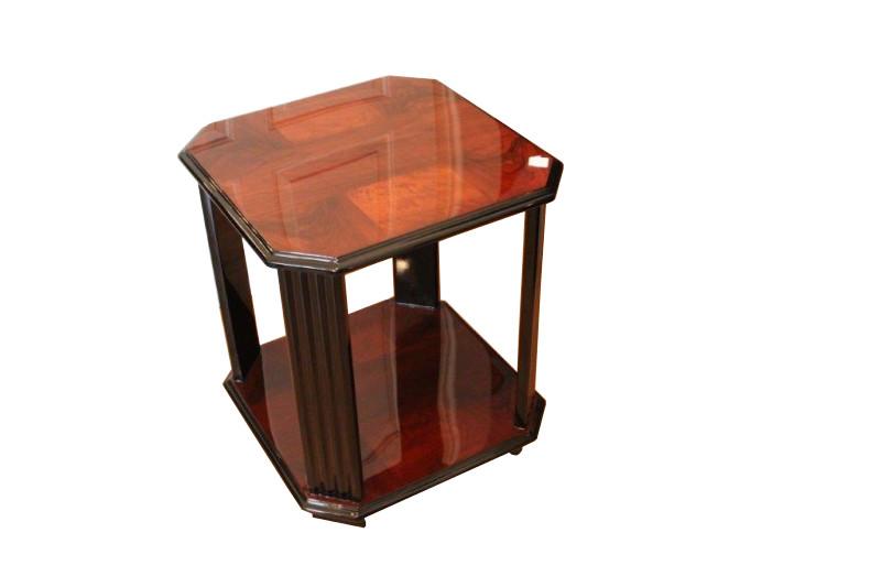 art deco beistelltisch nussbaum original antike m bel. Black Bedroom Furniture Sets. Home Design Ideas