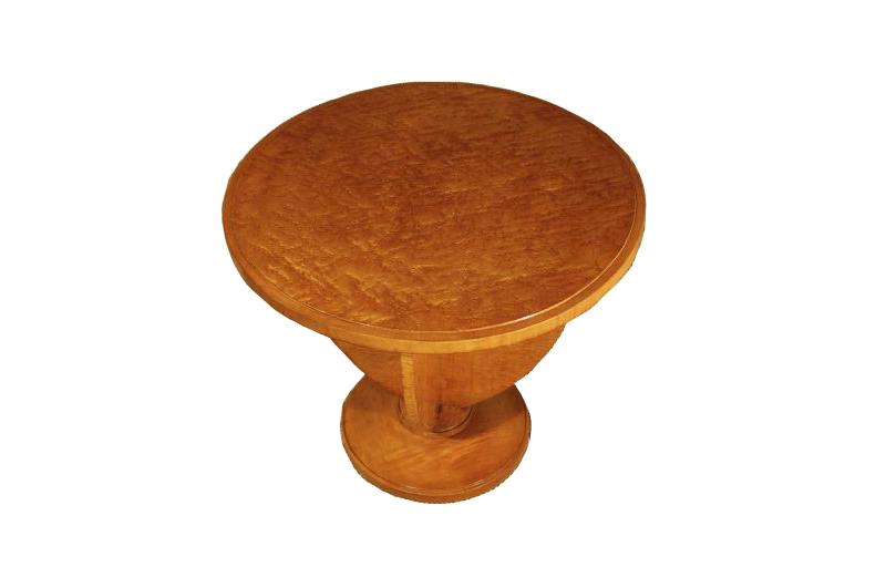 Ahorn beistelltisch art deco original antike m bel for Beistelltisch ahorn