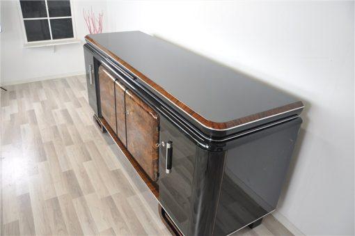 Large, Sideboard, Credenza, french, Walnut, carved feet, design, storage, living room, furniture, antique, vintage, luxurious