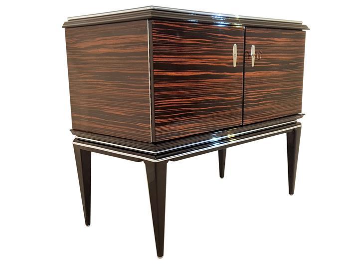 Art Deco Makassar Kommode Original Antike Mobel