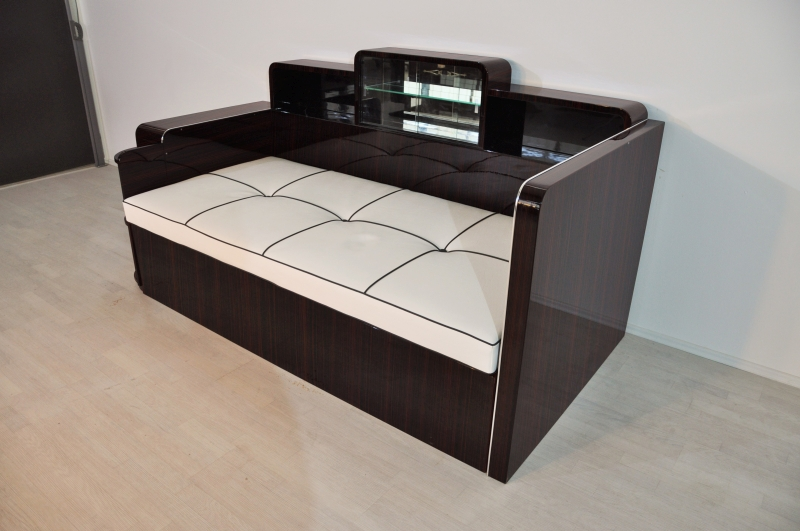 art deco makassar daybed original antike m bel. Black Bedroom Furniture Sets. Home Design Ideas