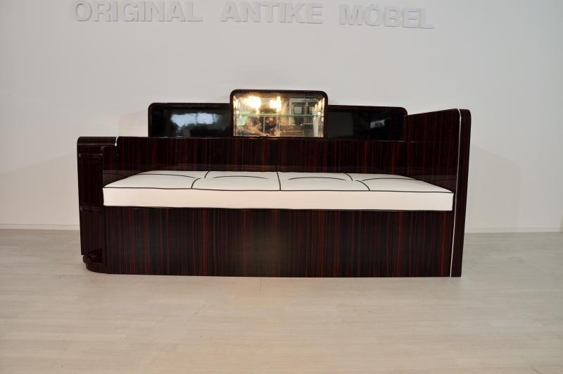 art deco makassar daybed original antike m bel. Black Bedroom Furniture Sets. Home Design Ideas