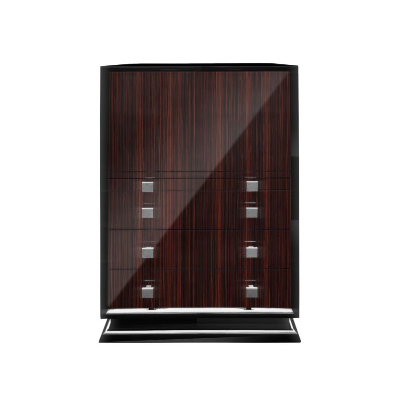 art deco design schrank mit barfach ebay. Black Bedroom Furniture Sets. Home Design Ideas