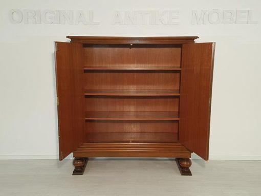 Art Deco, Kommode, Schrank, 4 Schubladen, Nussbaum, unrestauriert, individualisierbar, Handarbeit, Original, made in Germany