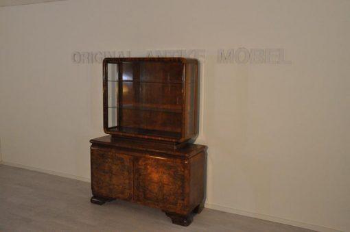 Kommode, Moebel, Wohnzimmer, Frankreich, Art Deco, Makassar, Funier, Stilmoebel, braun, Design, Luxus, Vitrinen, unrestauriert